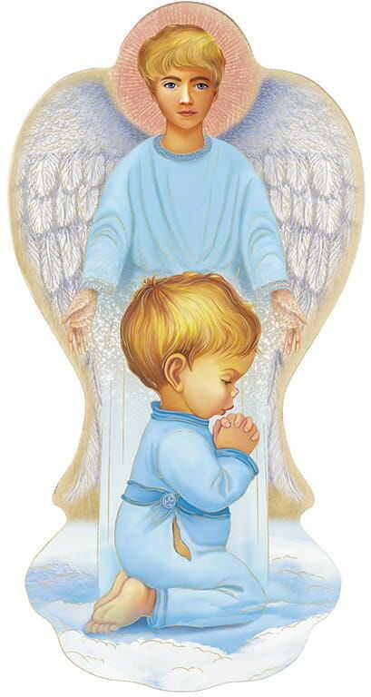 Anioł Stróż, prezent na chrzest dla chłopca