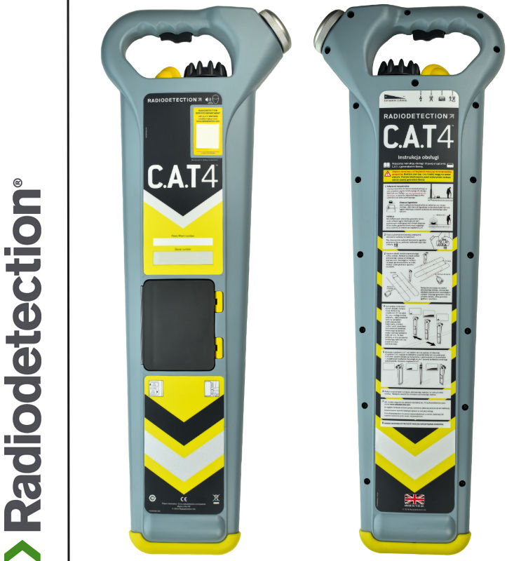 Radiodetection Wykrywacz instalacji podziemnych CAT4