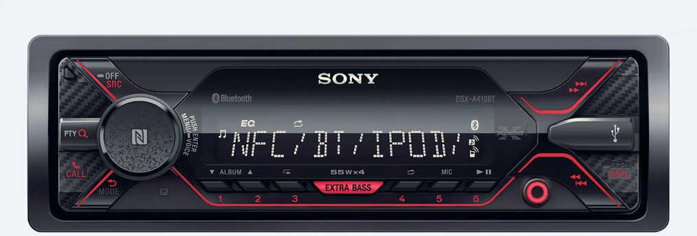 Radio samochodowe Sony DSX-A410BT BT USB AUX Darmowa dostawa