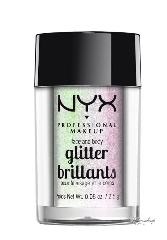 NYX Professional Makeup - Glitter Brillants - Brokat do twarzy i ciała - 07