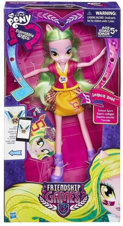 My Little Pony Equestria Girls - Friendship games Lemon Zest B2019 B1769