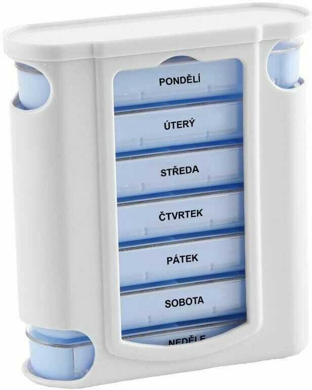 Organizer pojemnik na tabletki leki pudełko 7 dni