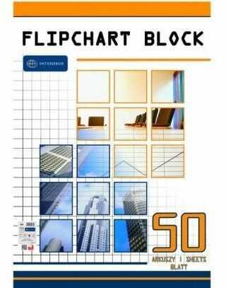 Blok do flipcharta Interdruk, kratka, format A1, opakowanie 50 kartek -  Rabaty  Porady  Hurt  Autoryzowana dystrybucja  Szybka dostawa