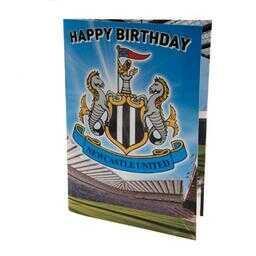 Newcastle United - kartka urodzinowa