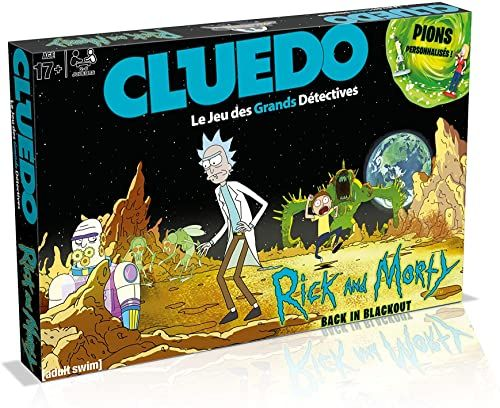 Cluedo Rick and Morty Edition
