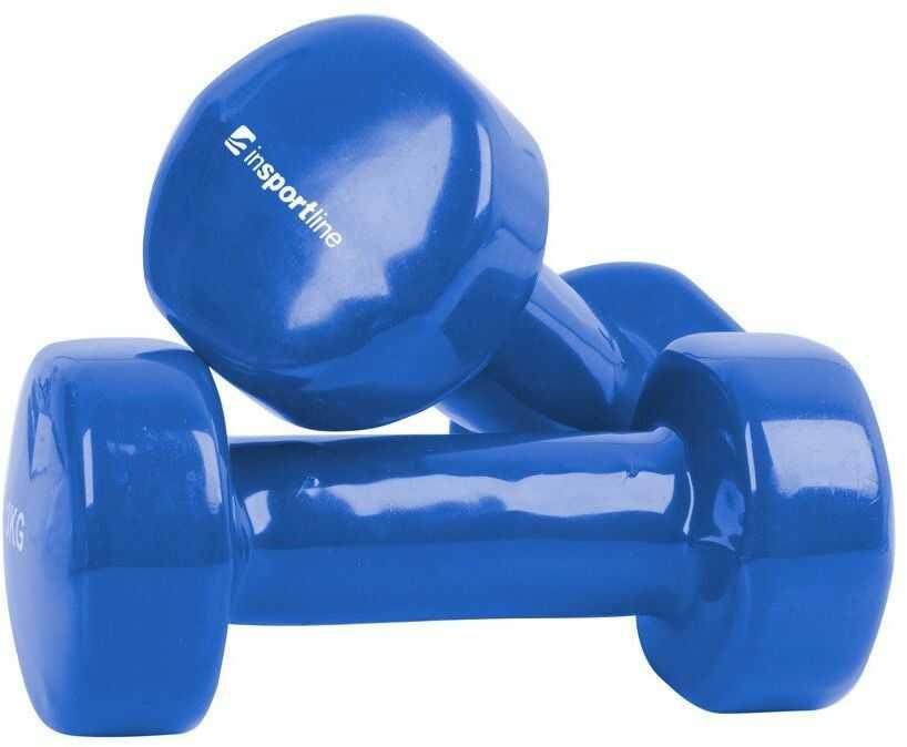 Hantle fitness winylowe Smoothbell 2 x 2 kg - Insportline
