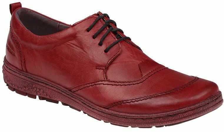 Półbuty KACPER 2-5220-729+729 Czerwone