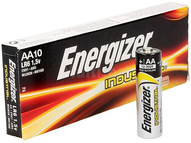 Bateria alkaliczna 1,5V ENERGIZER AA Industrial 10szt.