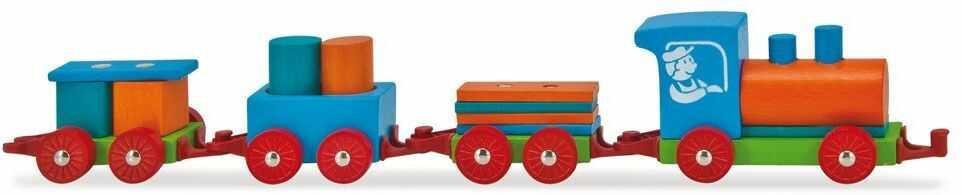 Heros 100022064 - kolorowy pociąg do zabawy