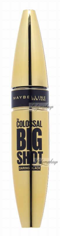MAYBELLINE - THE COLOSSAL BIG SHOT - DARING BLACK - Zwiększający objętość tusz do rzęs