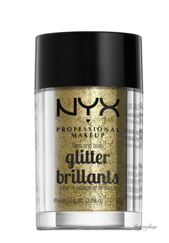NYX Professional Makeup - Glitter Brillants - Brokat do twarzy i ciała - 05