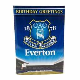 Everton FC - kartka urodzinowa