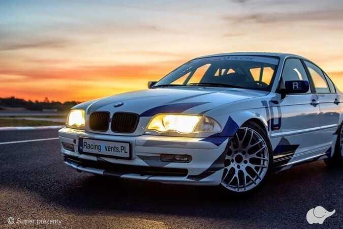 Jazda BMW 330i E46 ClubSport