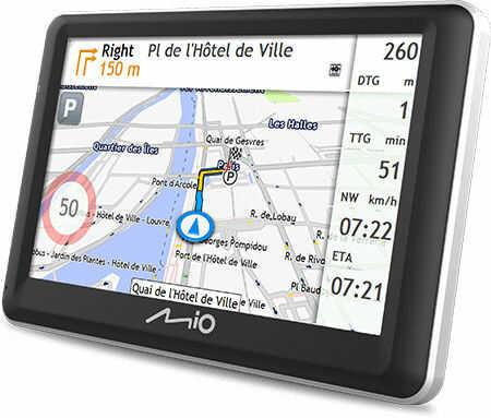 Nawigacja samochodowa GPS Mio 7700 FEU LifeTime Darmowa dostawa
