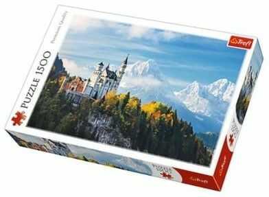 Puzzle TREFL 1500 - Alpy Bawarskie, Bawarian Alps
