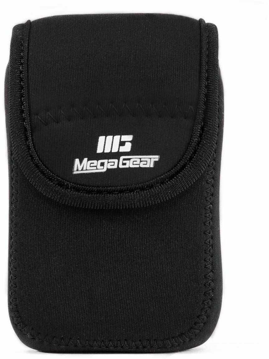 MegaGear MG037 Canon PowerShot SX740 HS, SX730 HS, SX720 HS, G16 ultralekka torba na aparat z neoprenu, czarna