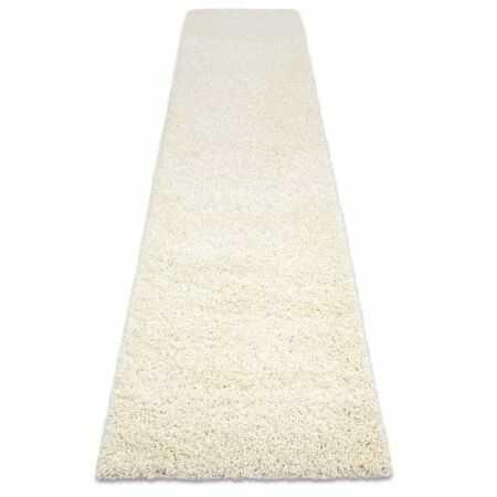 Dywan, Chodnik SOFFI shaggy 5cm krem - do kuchni, przedpokoju, na korytarz 60x100 cm