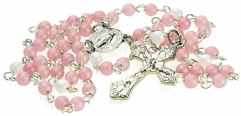 Różaniec do modlitwy dla dziewczynki