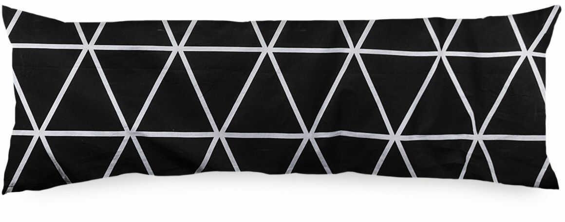 4Home Zastępczy mąż Galaxy czarno-biały, 45 x 120 cm, 45 x 120 cm