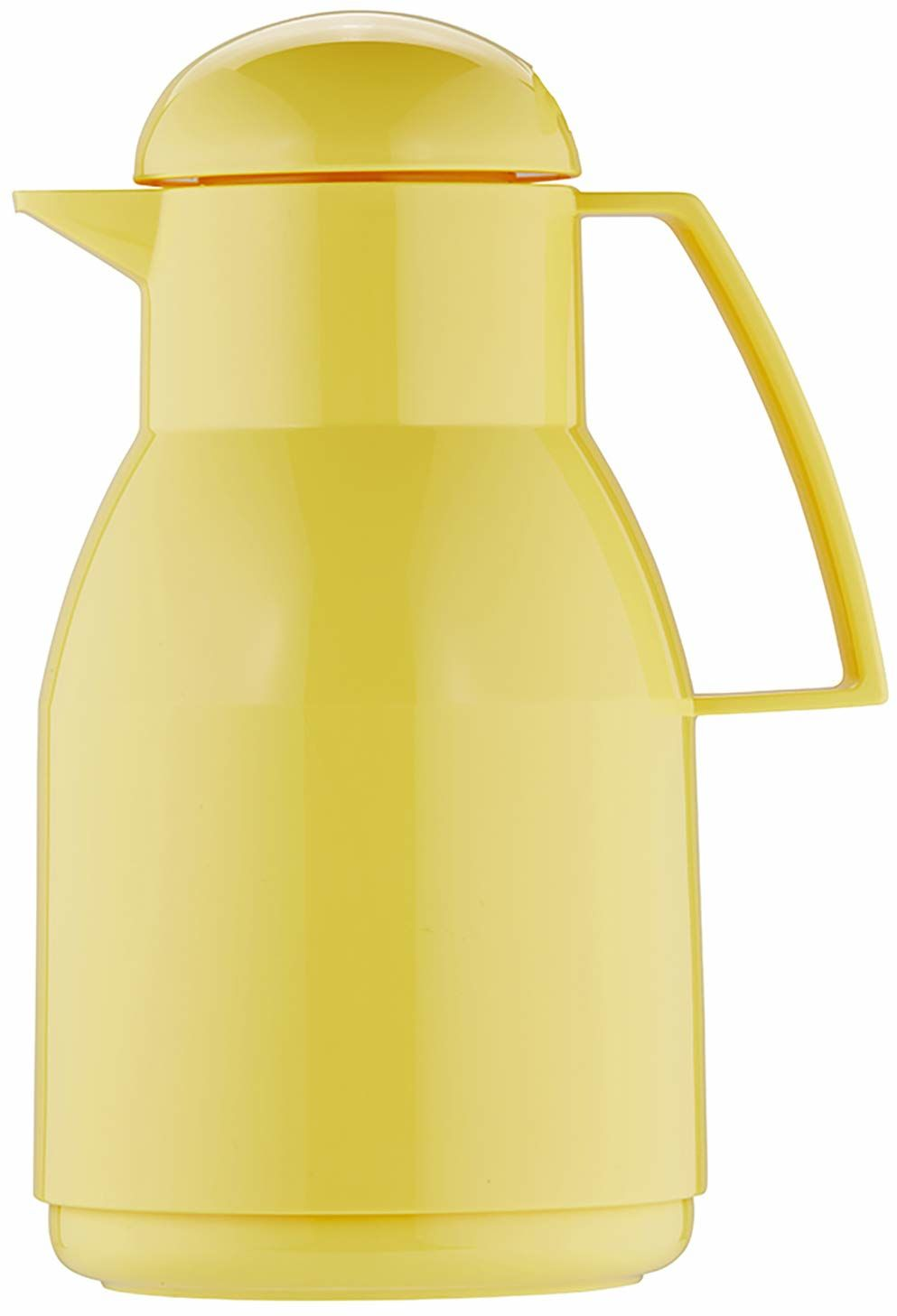 Helios Dzbanek izolacyjny z tworzywa sztucznego, żółty, 1 litr