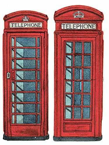 Barry Goodman pudełka telefoniczne płótno, poliester, wielokolorowe, 40 x 50 cm