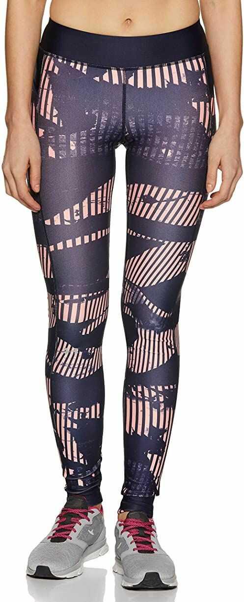 Under Armour damskie legginsy z nadrukiem Hg Pink Sands XS