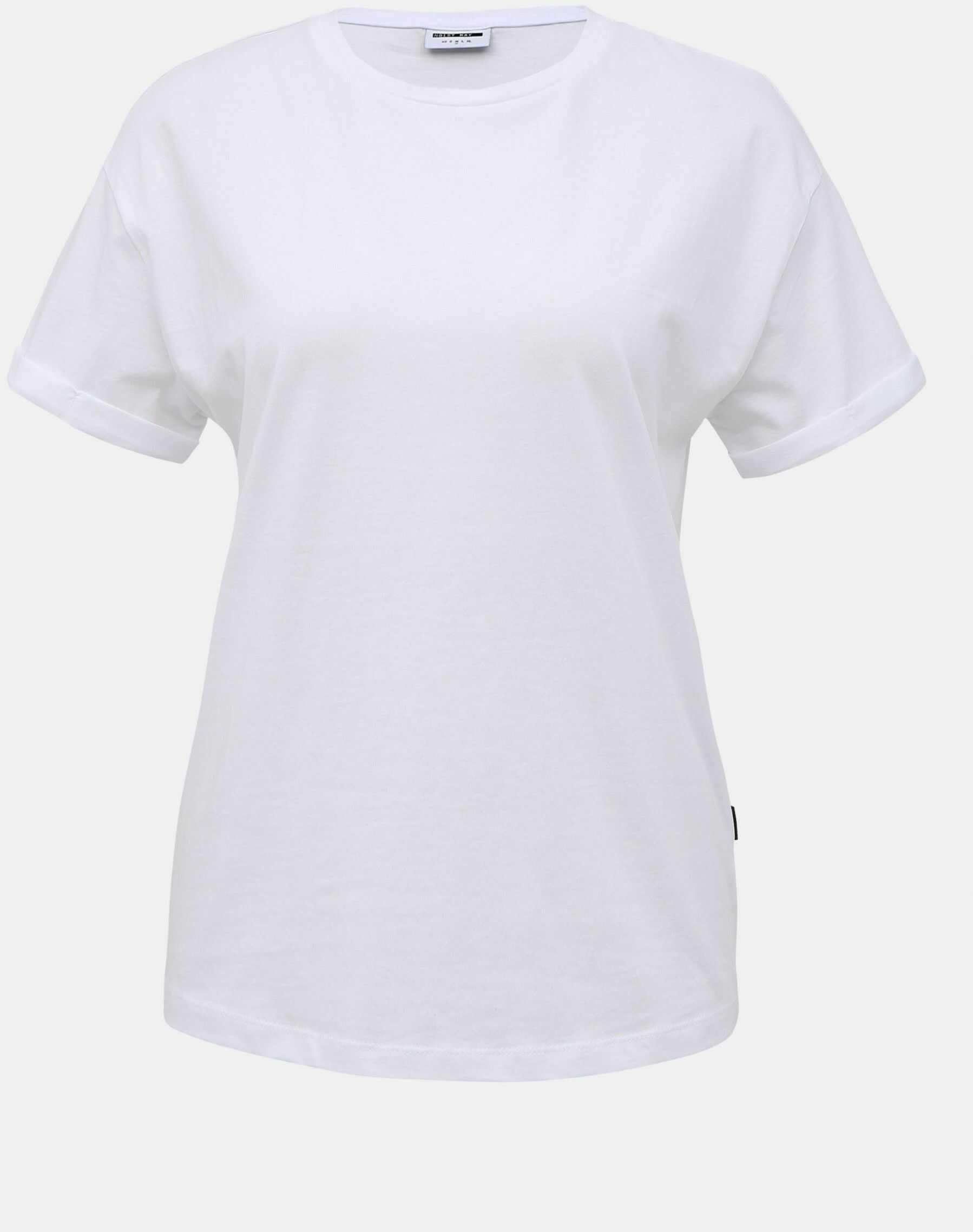 Biała podstawowa koszulka Noisy May Brandy