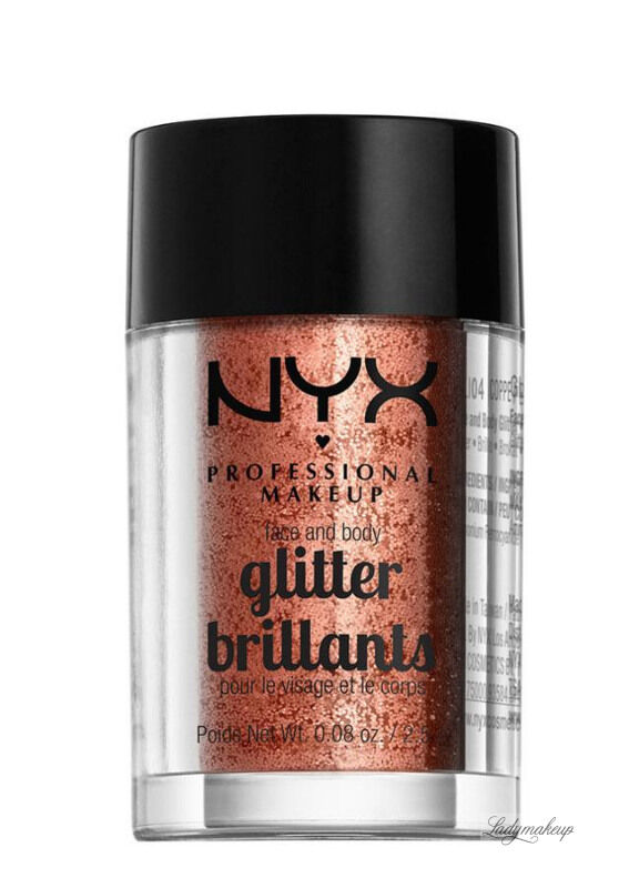 NYX Professional Makeup - Glitter Brillants - Brokat do twarzy i ciała - 04