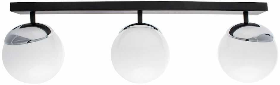 Milagro SFERA MLP8873 plafon lampa sufitowa chrom klosze kule szkło 3xE14 65cm