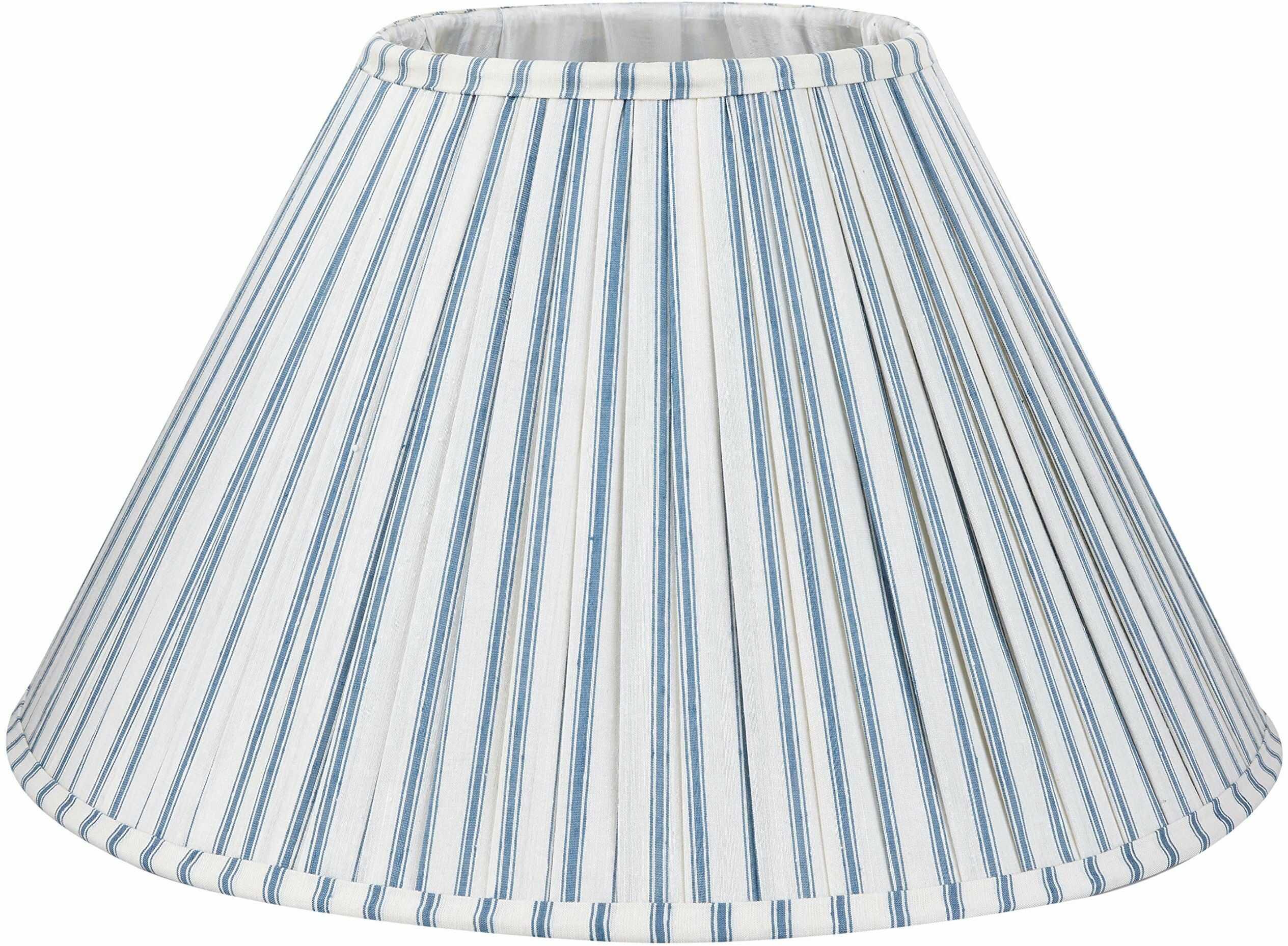 Better & Best 0213451  klosz z jedwabiu, tabela wąska, 45 cm, z niebieskimi paskami