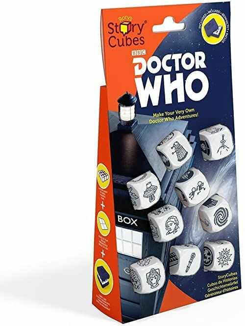 The Creativity Hub JUN173389 Rory''s Story Cubes: Dr Who