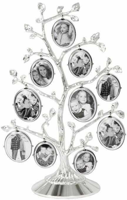 Zilverstad 7703231 ramka na zdjęcia drzewo genealogiczne drzewo zdjęć, 10 zdjęć