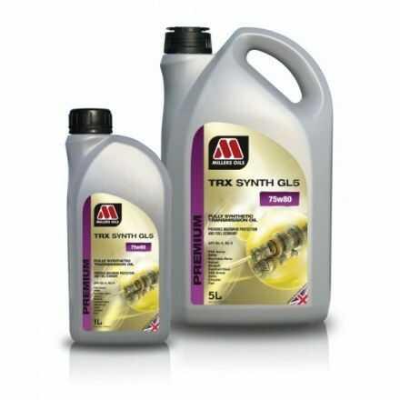 Millers Oils TRX Synth GL5 75W80 5l