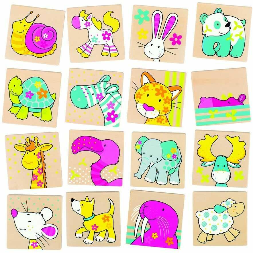 Goki 56687 - gra legendarna - Memo - Moje przyjaciele - kolekcja Susibelle