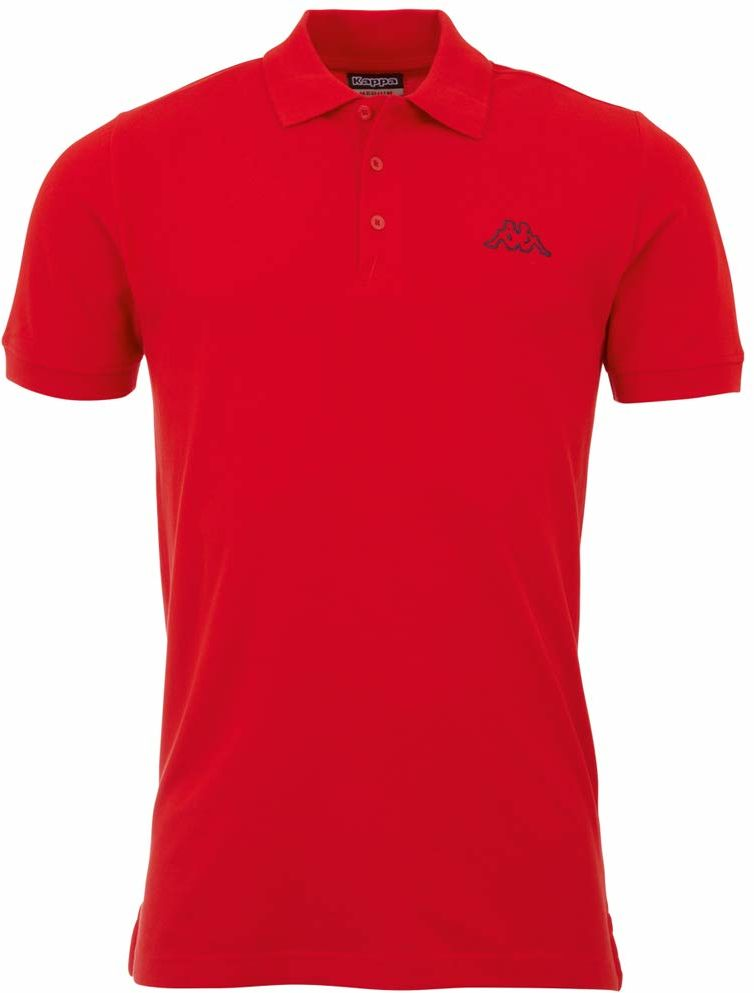 Kappa Męska koszulka polo PELEOT 540 Scarlet, XXL