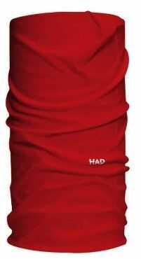 HAD Head Accessoires Solid Colours chusta funkcyjna, czerwona, jeden rozmiar