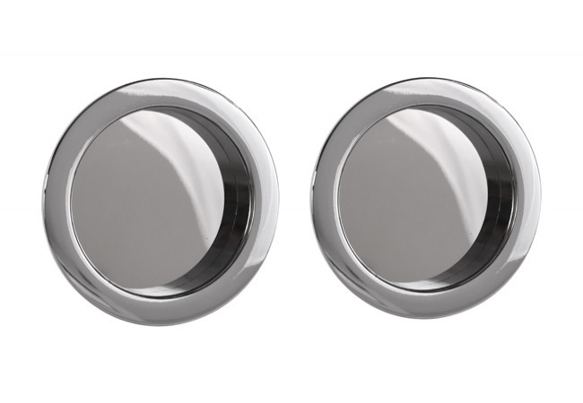 Uchwyt do drzwi przesuwnych okrągły fi 55 chrom (2 szt.)