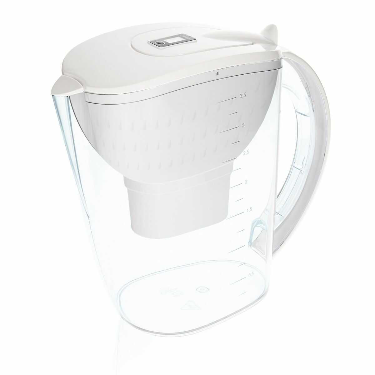 Dzbanek filtrujący do wody 3,5L AquaMax - BIAŁY - Wessper