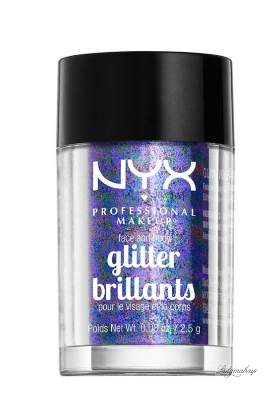 NYX Professional Makeup - Glitter Brillants - Brokat do twarzy i ciała - 11