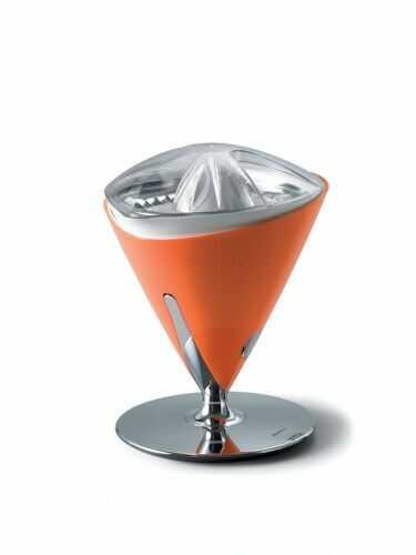 Wyciskarka wolnoobrotowa do cytrusów Vita Casa Bugatti pomarańczowa