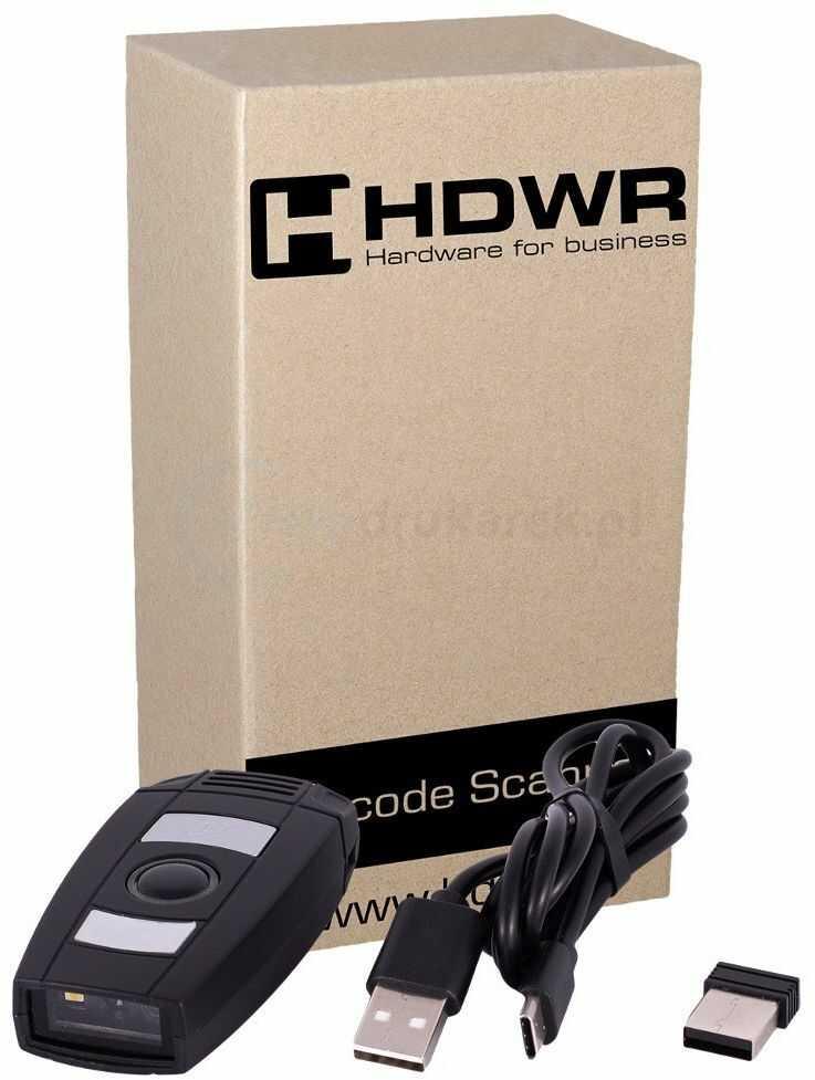 Bezprzewodowy skaner kodów kreskowych 2D HDWR HD-6600 BT WiFi
