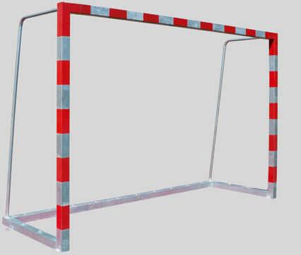 Bramka do piłki ręcznej/mini nożnej stalowa z tulejami