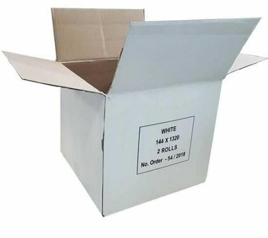Karton używany tekt 3 - 305 x 305 x 290 biały