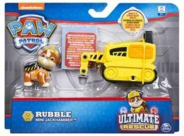 Figurka z mini pojazdem Psi Patrol - Rubble