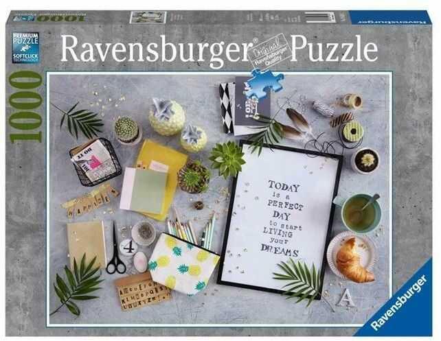 Puzzle Ravensburger 1000 - Żyj marzeniami, Live your dreams
