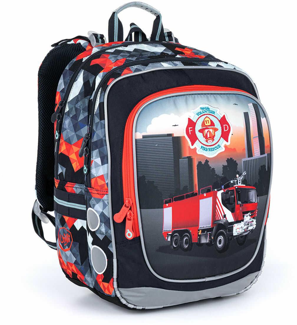 Lekki plecak z motywem strażackim Topgal ENDY 21013 B