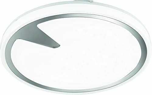 Fischer & Honsel Lampa sufitowa 1x LED 19W biała/kolor chromu, Tuya