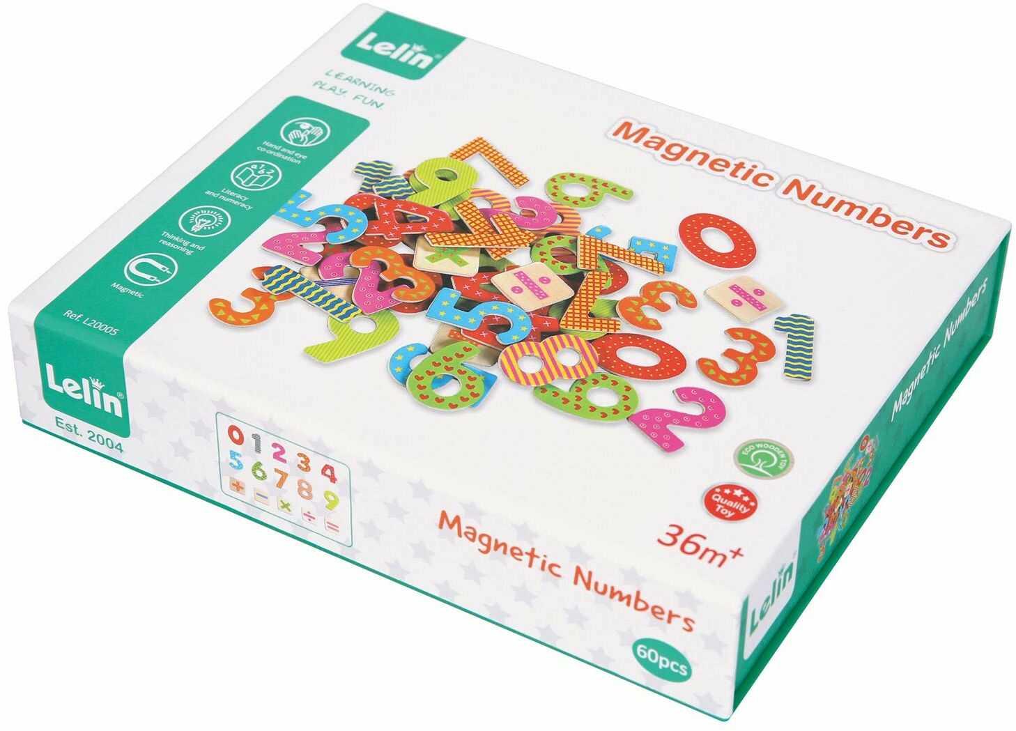 Numery magnetyczne LELIN 30606