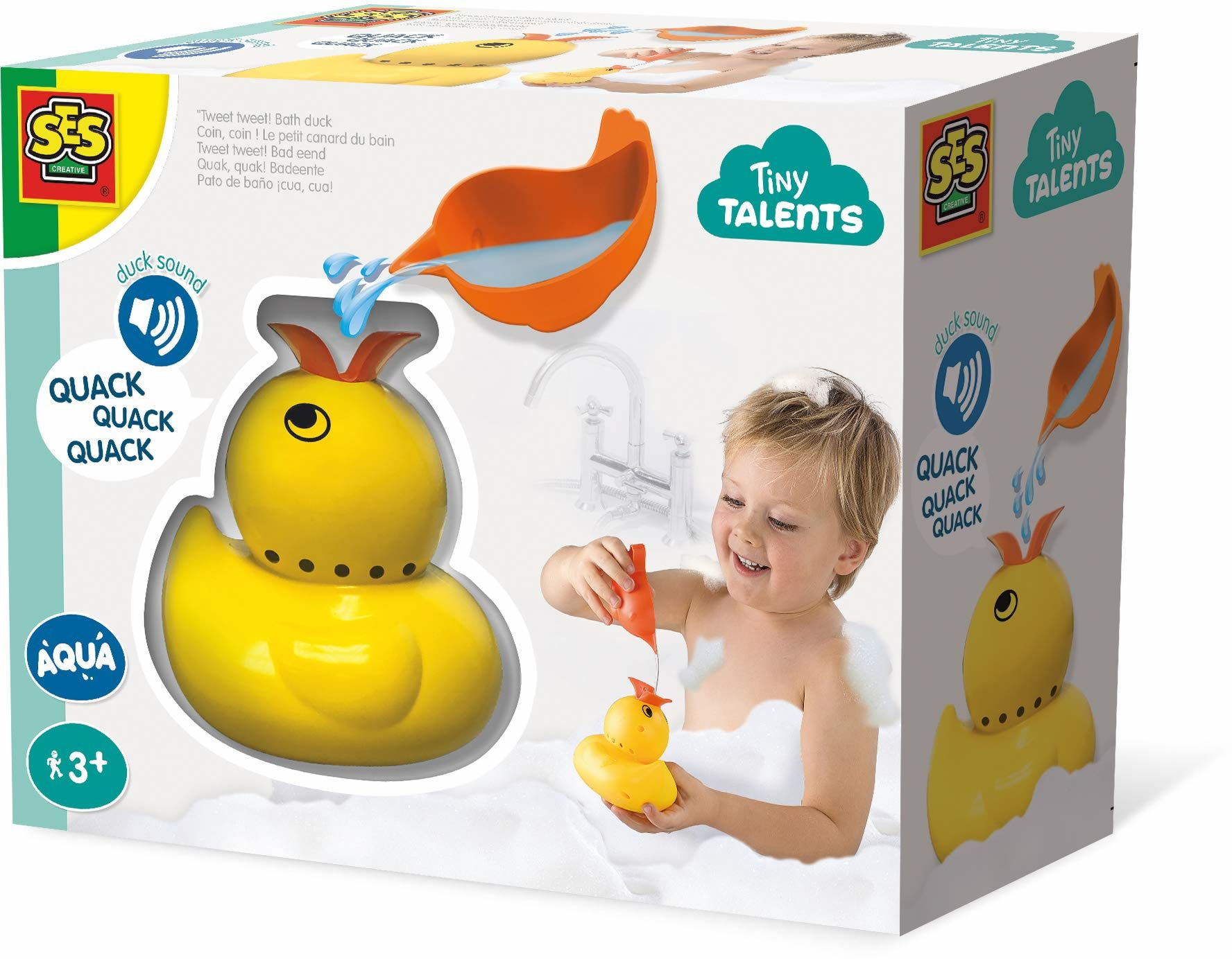 SES Creative 13093, quak kaczka kąpielowa