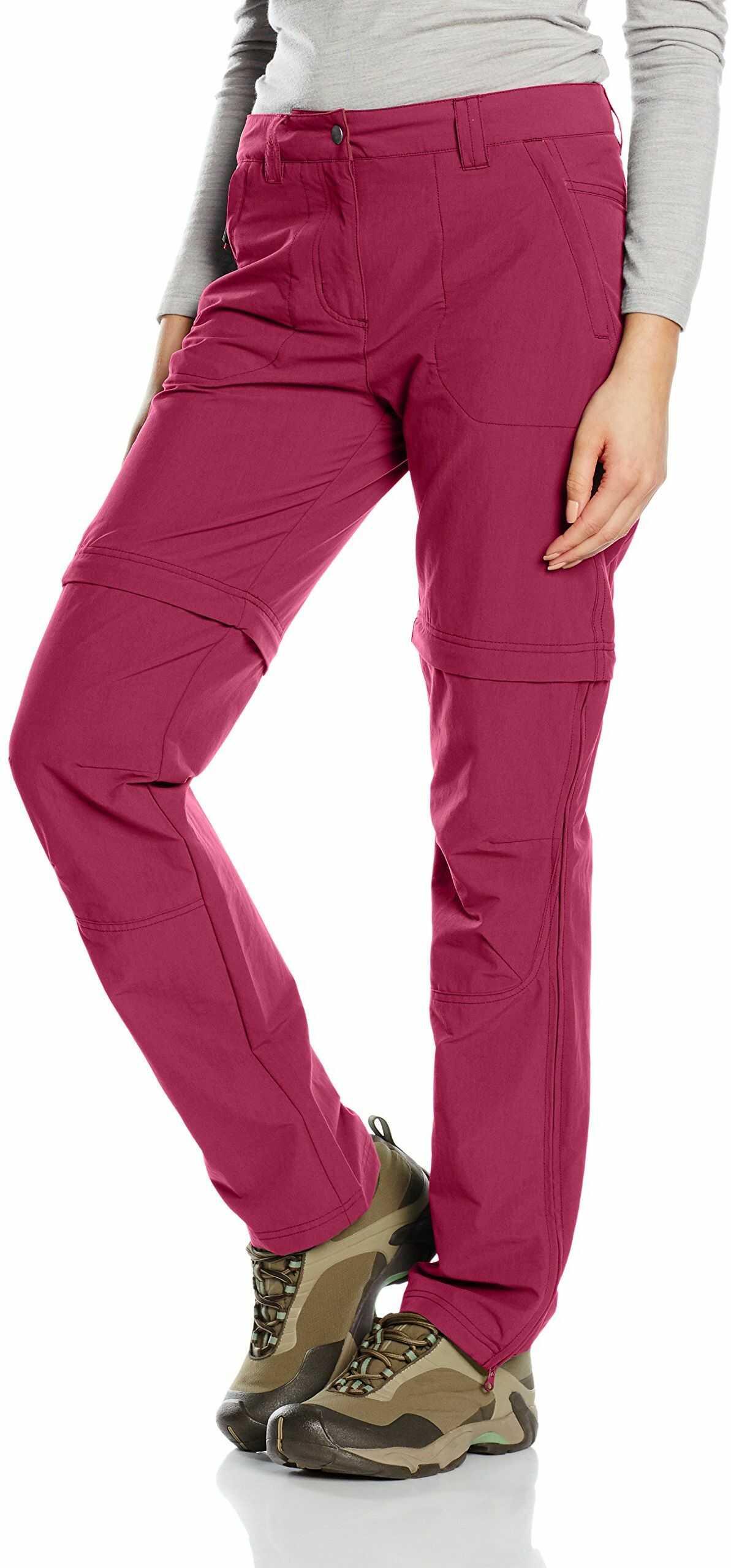 Salewa damskie spodnie trekkingowe Fanes Valpar, 2/1 REG, Red Onion, 44